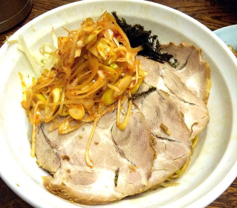 入船食堂の油そばが美味しかった 福岡市博多区住吉